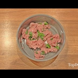 Homemade Raw Dog Food Recipe (Easiest One to Make, No Cooking)